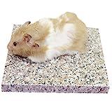 Emours, kühle Granitplatte für Hamster, Chinchillas und andere Kleintiere, dekorativ, 19,8x...