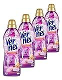 Vernel Weichspüler Aroma-Therapie Geheimnis der Entspannung, 4er Pack. (4 x 1 Liter)