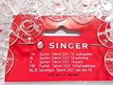 10 Originale Spulen für Singer NähmaschineTalent + Tradition Curvy + Confidence