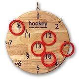 Elite Hookey Ring Toss Ringwurfspiel für die Wand - Indoor- oder Outdoor-Spiel für Kinder oder...