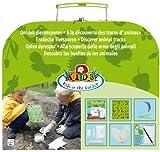 Esschert Design KG12226x 22x 8cm Kinder Kunststoff Set of Animal Footprints...