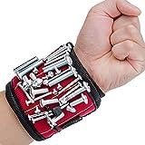 Alquar Magnetische Armbänder, mit 5 leistungsstarken Magneten Magnet Armbänder für Holding...