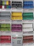 Coroplast Box verschiedene Farben VDE Isoband Elektriker Isolierband Klebeband 15mm x 10 m 20 Rollen...