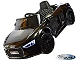 Kinderfahrzeug 12V Kinder Elektro MP3 USB TF Auto Audi R8 Spyder V10 EVA Gummiräder Ledersitz 2,4...