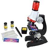 Soriace® Kinder Mikroskop Set, 100x 400x 1200x Wissenschaft Kinder Mikroskopie Kit Pädagogisch...