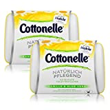 2x Hakle Cottonelle feuchte Toilettentücher Kamille & Aloe Vera 42 Tücher, Starterset