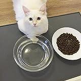 Ailier Hund Matte Futternapf Silikon Platzdeckchen Lebensmittelqualität Wasserdichten Silikon Anti...