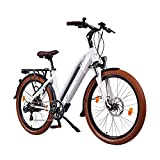 NCM Milano 48V, 26' Zoll Damen & Herren Urban E-Bike Elektrofahrrad Pedelec, 250W Das-Kit Heckmotor,...