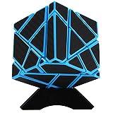 Acefun 3x3 Kohlefaser Aufkleber Abnormity Cube Ghost Cube Intelligenz Geschwindigkeit Magic Cube...