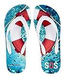 Geschenk für Schwimmer / Kreuzfahrt 'Rettungsring SOS' - Wassersportschuhe von palupas (39/40)