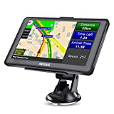 AWESAFE GPS Navi Navigation 7 Zoll Touchscreen für Auto PKW LKW Europa Traffic, 8GB/256M...
