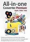 All in One Converter Premium - Video - Audio - Foto - Umwandlung, Bearbeitung, Konvertierung für...