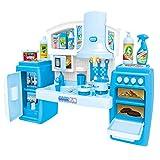 PUDDINGT Tragbare Elektronische Kinder Kinderküche Kochen Mädchen Toy Cooker Play Set,Blue