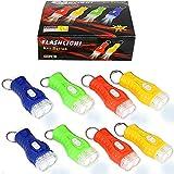 German Trendseller® - 8 x Kinder LED Taschenlampen ┃ Sehr gute Leucht-Kraft ┃ 8 x...