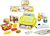 Brigamo 15379 - 26 teilige Kaufladen Kasse Registrierkasse mit Licht & Sound und Zubehör...