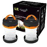 LE Laterne Zusammenklappbare led Taschenlampe mini LED Notfallleuchte 3 Helligkeiten Aussenleuchte...