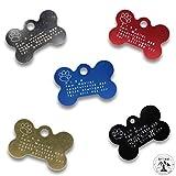 Raftsman Hundemarke mit persönlicher Gravur inkl. Schlüsselring - ID Tag - Adressanhänger -...