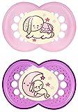 MAM 66110522 - Night Latex 6-16 für Mädchen, Doppelpack
