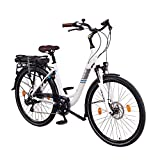 NCM Munich 36V, 28' Zoll Elektrofahrrad, Herren & Damen Pedelec, E-Bike City Rad, 250W Bafang...