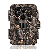 TEC.BEAN Wildkamera Jagdkamera, 12MP 1080P Full HD Keine Glow Infrarot Wildlife Kamera mit...