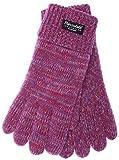 EEM Damen Strickhandschuh JETTE mit Thinsulate™ Thermofutter, warm, 100% Wolle, Winterhandschuh;...