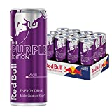 Red Bull Purple Edition Energy Drink mit Acai Geschmack, Einweg, 12er Pack (12 x 250 ml)