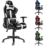 Diablo X-Player Drehstuhl, Chefsessel, Zocker Stuhl, Bürostuhl mit Armlehnen, Gaming Stuhl,...