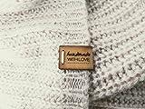 Handgefertigte Lederetiketten E | 15 Stück | Exklusive gravierte echte italienische Leder-Tags |...