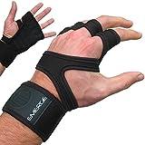 Handschuhe mit Handgelenkbandage & Daumenschlaufe von Emerge – Trainingshandschuhe für CrossFit,...