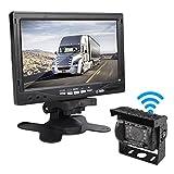 Car Rover Kabellos LKW Rückfahrkamera Parksystem mit 7 'HD TFT Monitor