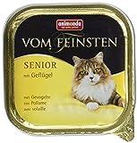 Animonda vom Feinsten Katzenfutter Senior mit Geflügel, 32er Pack (32 x 100 g)