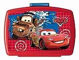 p:os 68788 Brotdose Premium mit Einsatz Disney Pixar Cars, ca. 16 x 12 x 6,5 cm
