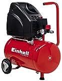 Einhell Kompressor TH-AC 200/24 OF (1,1 kW, 24 L, Ansaugleistung 140 l / min, 8 bar, ölfrei, große...