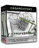 CADarchitekt V.3 Professional - 3D Hausplaner Architektur Software / 2D Grundriss Programm