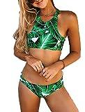 YaoDgFa Sexy Strand Damen Bikini Set Bademode Badeanzüge Bikinis für Frauen Mädchen Bandeau...