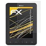 Trekstor eBook Reader Pyrus Displayschutzfolie - 2 x atFoliX FX-Antireflex blendfreie Folie...