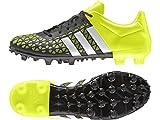 adidas ACE 15.3 FG/AG, Herren Fußballschuhe, Mehrfarbig (Black / Green / White), 41 1/3 EU (7.5...