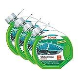 SONAX 4X 03864000 Scheibenreiniger Konzentrat Green Lemon 3L