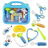 Arztkoffer Doktorkoffer für Kinder Zubehör Arzt Pretend Play Kinder Rollenspiele für Kinder...