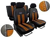 Autositzbezüge passend für E-39 .Sitzbezüge Set Kunstleder mit Alcantra. Design 'GT'. In diesem...
