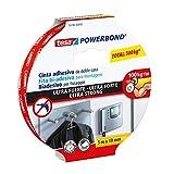 tesa Powerbond Ultra Strong Montageband / Doppelseitiges Klebeband für eine besonders starke und...