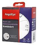 AngelEye Batteriebetriebener Rauch- und Kohlenmonoxidmelder für die Anwendung in privaten...