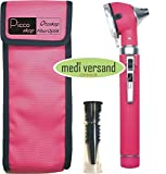 Pocket Otoskop Fiber Optik Mini in rose