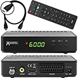 Anadol HD 200 Plus HD HDTV digitaler Satelliten-Receiver (HDTV, DVB-S2, HDMI, SCART, 2x USB 2.0,...