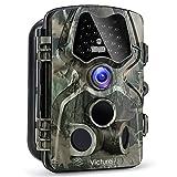 Victure Wildkamera Fotofalle 12MP 1080P Full HD Jagdkamera 120°Weitwinkel Vision Infrarote 20m...