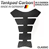 Motoking Tankpad 'CARBON CLASSIC' Tankaufkleber, Tankschutz, Lackschutz, Aufkleber Pad für Motorrad...