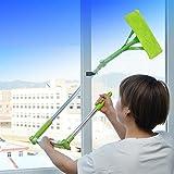 prevently New Arrival Creative Clever U Form Design Teleskop Faltbar Hochries Griff Reinigung Glas...