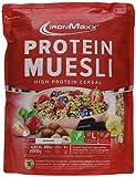 IronMaxx Protein Müsli Banane / Veganes Fitness Müsli laktosefrei und glutenfrei / Eiweiß Müsli...