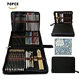 Aquarell Bleistifte,Buntstifte Farbstifte Skizzieren Kunst Set,zeichnen zubehör set und...