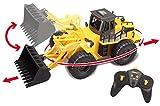 Voll funktionsfähiger Frontlader von Top Race 6 Channel , ferngesteuerter Bautraktor mit Lichtern &...